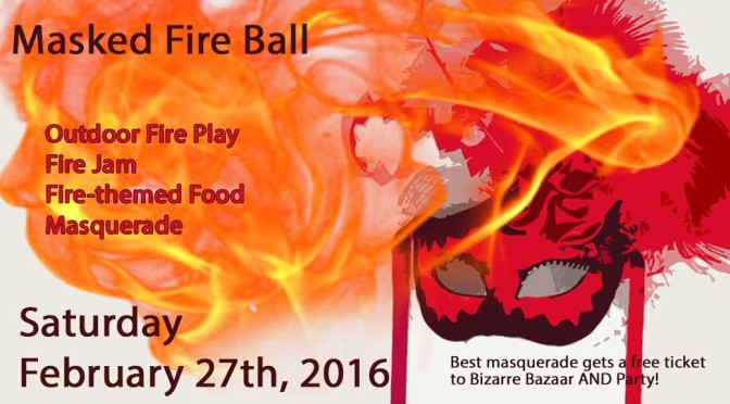 Masked Fire Ball: February 27, 2016