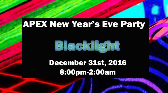 APEX New Year's Eve: Blacklight