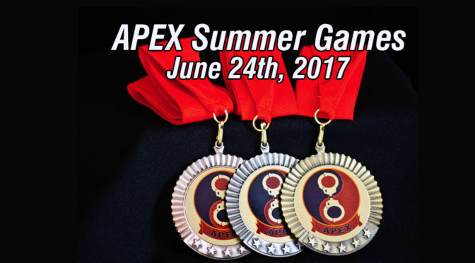 APEX Summer Games and Wet-N-Messy Party, Saturday June 24th, 2017