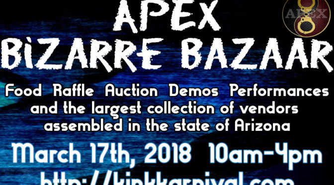APEX Bizarre Bazaar: March 17th, 2018