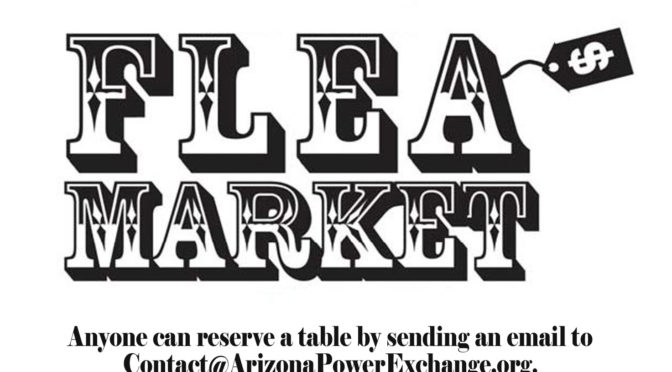 APEX Flea Market: Friday, April 20th @ 7pm