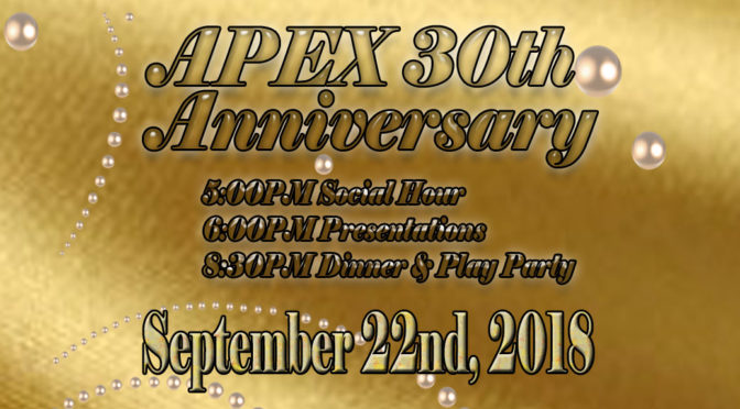 APEX 30th Anniversary