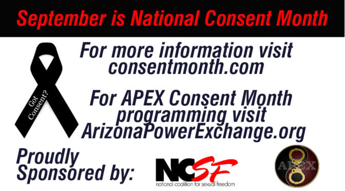 September is National Consent Month