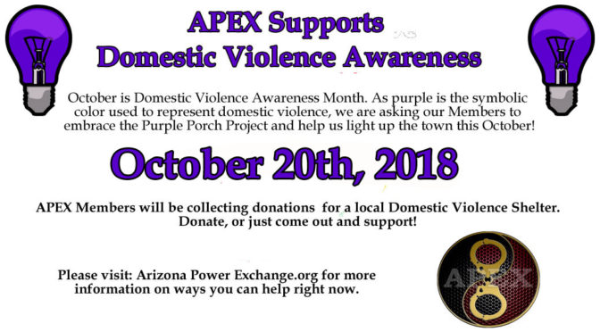 October is Domestic Violence Awareness Month: Why are our Porch Lights Purple?