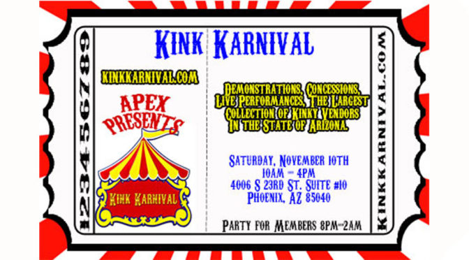 APEX Kink Karnival and Community Open House