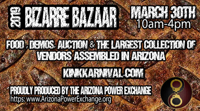 APEX Community Open House: Bizarre Bazaar